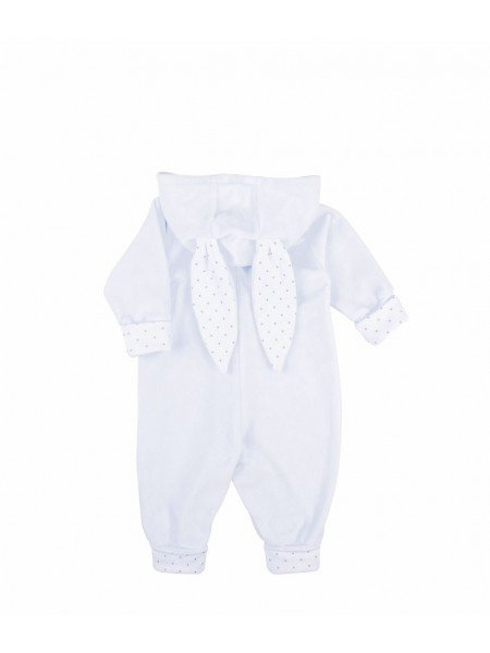 Комбинезон Bunny Overall Blue Plush / Silver Dots