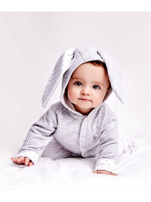 Кардиган Bunny Cardigan Grey / White Saturday