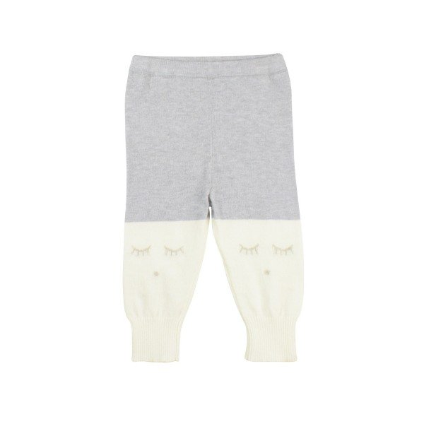 Штаны Cashmere Pants Ivory / Grey