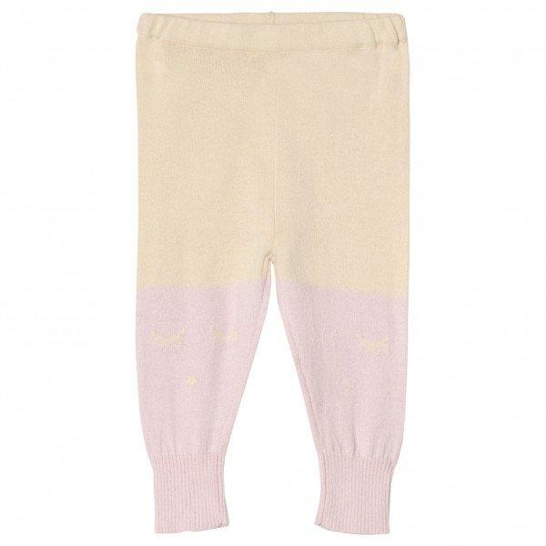 Штаны Cashmere Blend Pants Purple / Yellow
