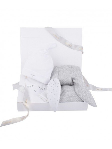 Набор Bunny Kit Grey / Sleeping Cutie White
