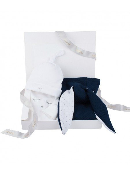 Набор Bunny Kit Navy / Sleeping Cutie White