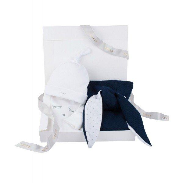 Набор Bunny Kit Navy / Sleeping Cutie White