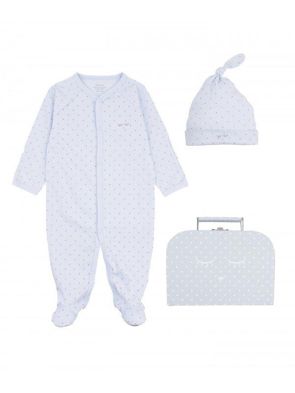 Набор Mini Kit Blue / Silver Dots