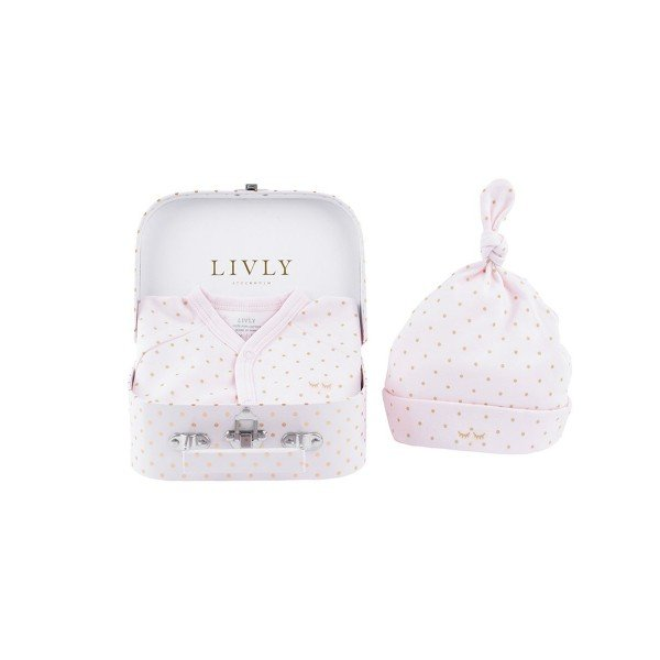 Набор Mini Kit Pink / Gold Dots