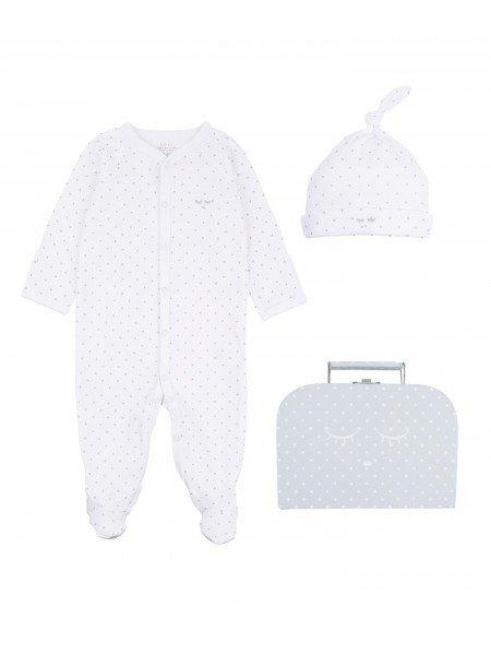 Набор Mini Kit White / Silver Dots