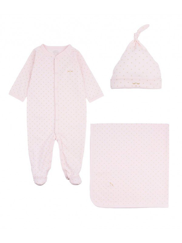 Набор Welcome Kit Pink / Gold Dots