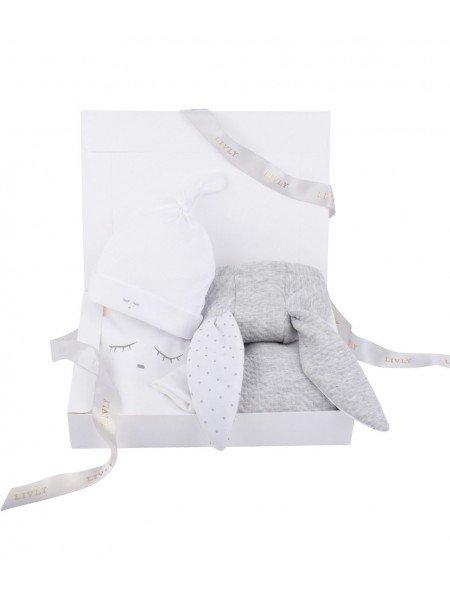 Набор Bunny Kit Grey / Sleeping Cutie White