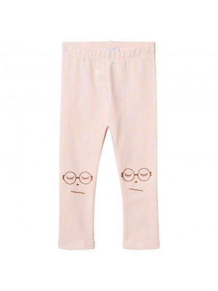 Штаны Essential Pants Sleeping Cutie Glasses Pink