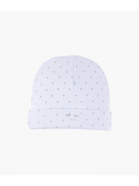 Шапка Saturday Ninni Hat Blue / Silver Dots