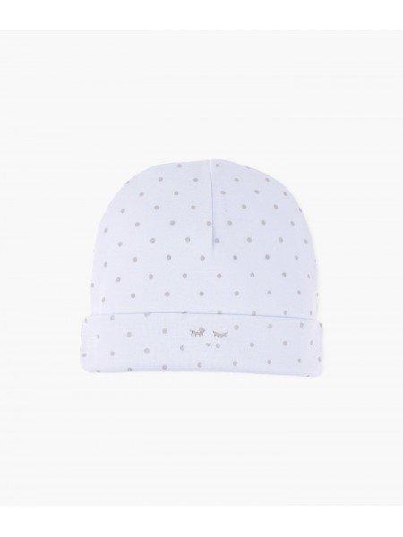 Шапка Saturday Ninni Hat Blue / Silver Dots