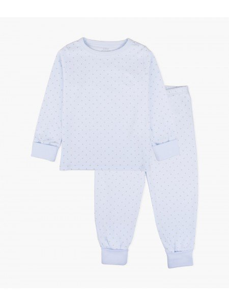 Пижама Saturday 2 Piece PJ Blue / White Dots