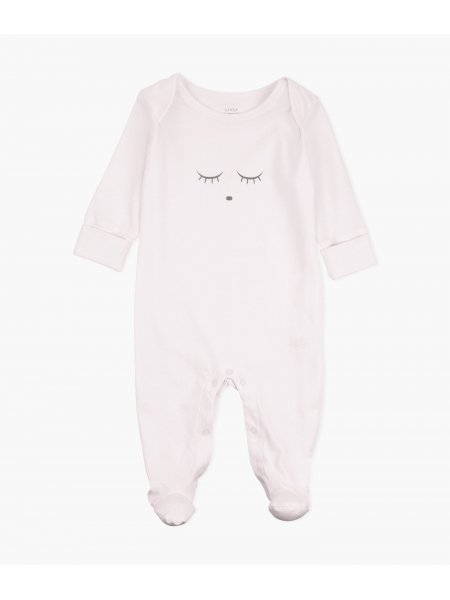 Комбинезон Sleeping Cutie Cover Footie Pink