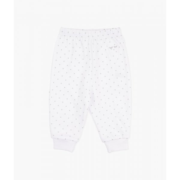 Штаны Saturday Pants White / Silver Dots