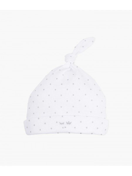 Шапка Saturday Tossie Hat White / Silver Dots