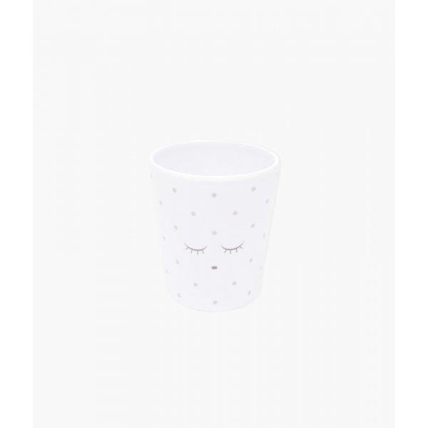 Чашка Cup White / Silver Dots