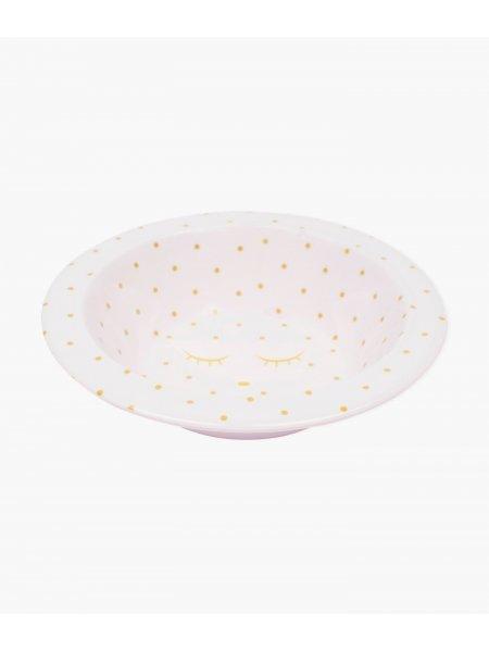 Миска Bowl Pink / Gold Dots