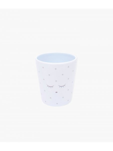 Чашка Cup Blue / Silver Dots