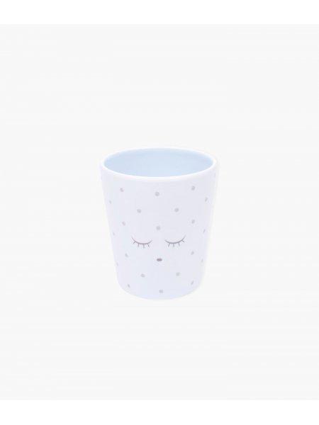 Чашка Cup Blue / Silver Dots