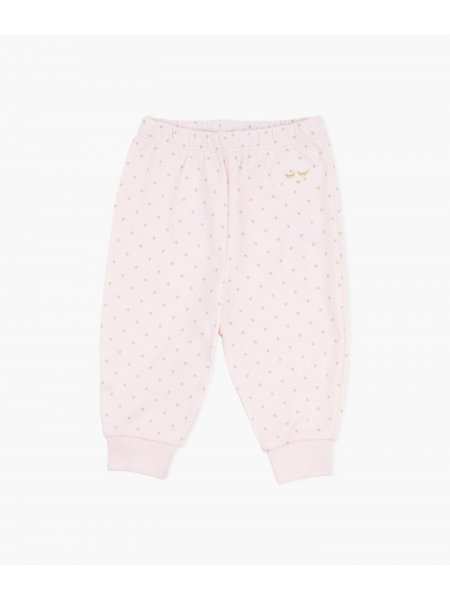 Штаны Saturday Pants Pink / Gold Dots
