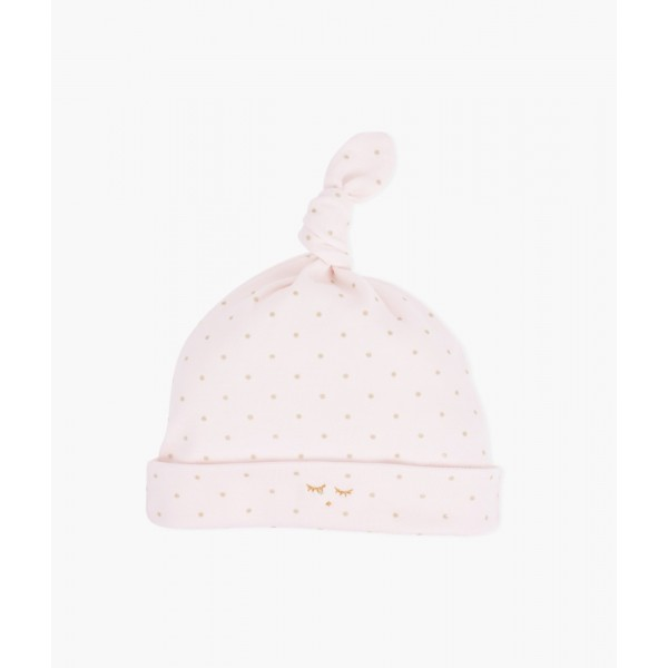 Шапка Saturday Tossie Hat Pink / Gold Dots