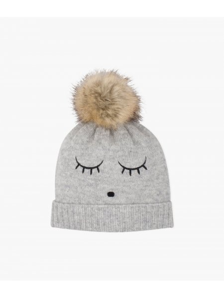 Шапка Sleeping Cutie Cashmere Hat Grey