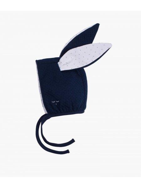 Шапка Bunny Hat Navy Jacquard