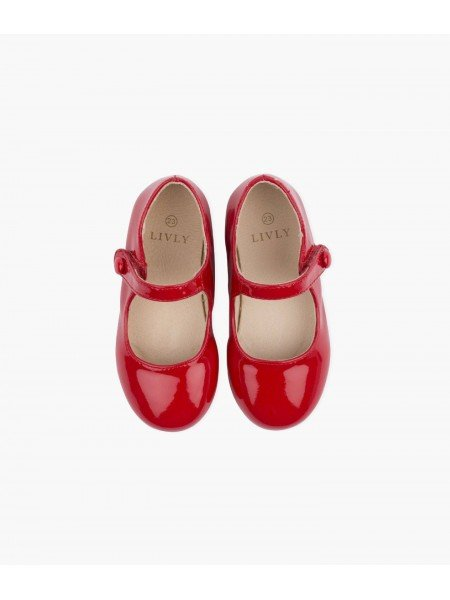 Туфли Mary Jane Shoes Red