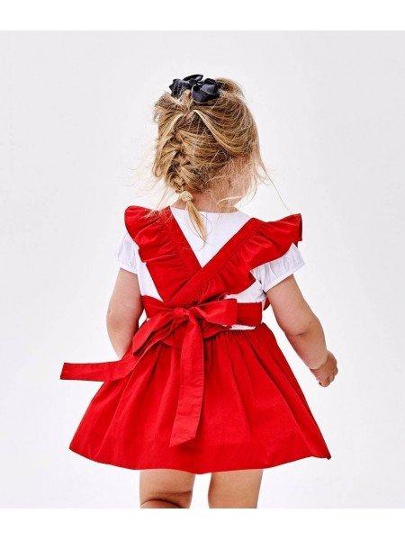 Туника Lisa Tunic Red / White