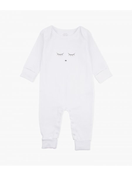Комбинезон Sleeping Cutie Coverall White