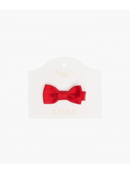 Бантик Small Bow Red