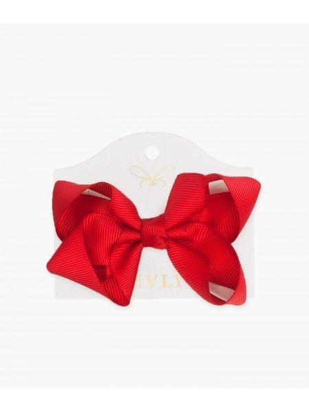 Бантик Medium Bow Red
