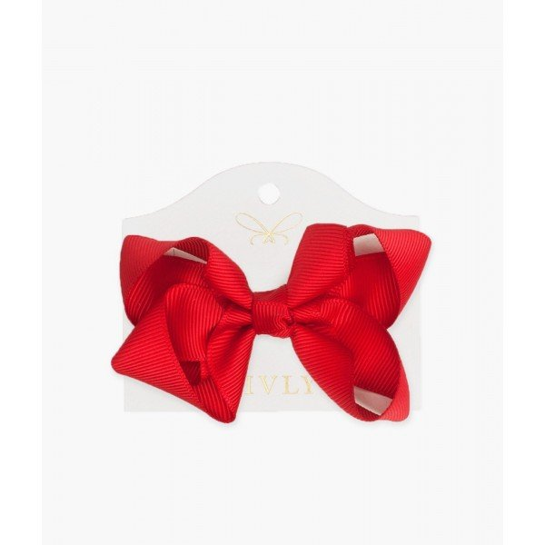 Бантик Medium Bow Red