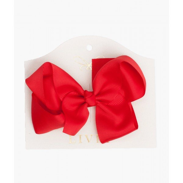 Бантик Large Bow Red