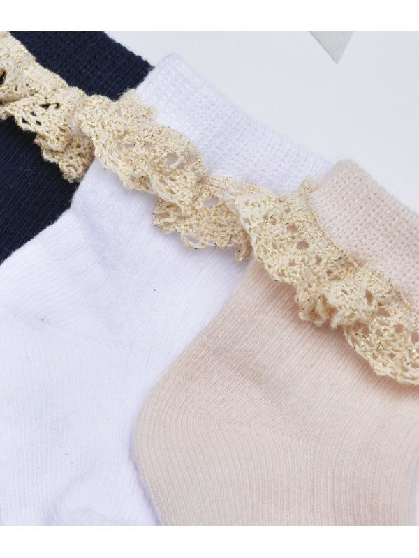 Носки Lace Socks White