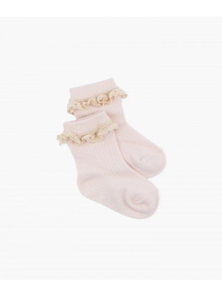 Носки Lace Socks Pink