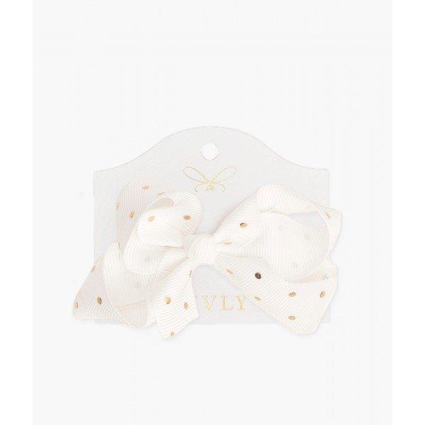 Бантик Medium Bow Saturday White