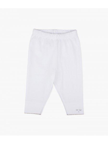 Леггинсы Leggings White / Grey Picot