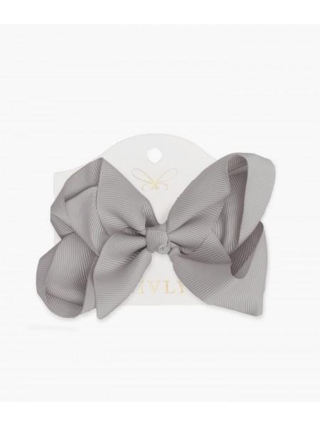 Бантик Medium Bow Gray
