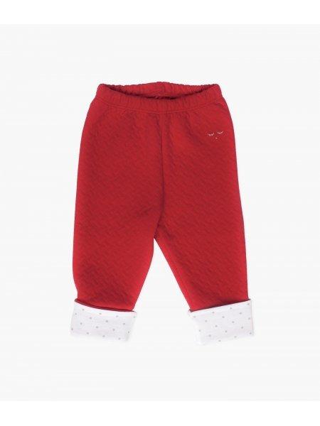 Штаны Folded Pants Wine Red Jacquard