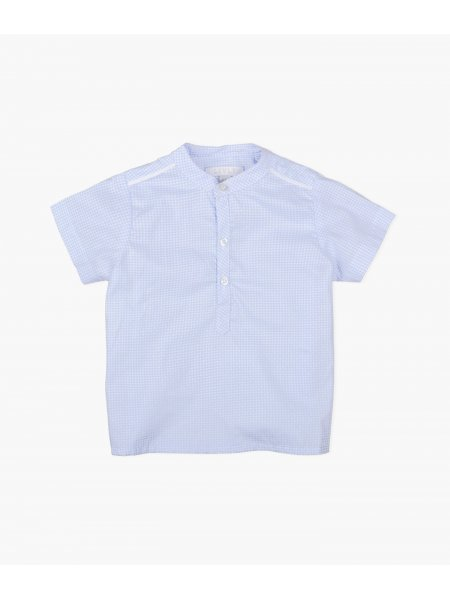 Рубашка Short sl. Emil Shirt Blue / White