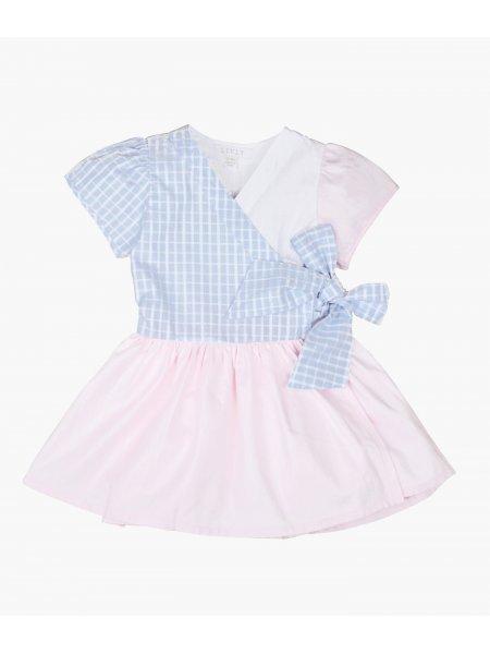 Платье Short Sleeve Libby Dress  Pastel Block
