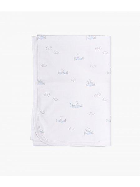 Одеяло Bunny Airplane Blanket Blue