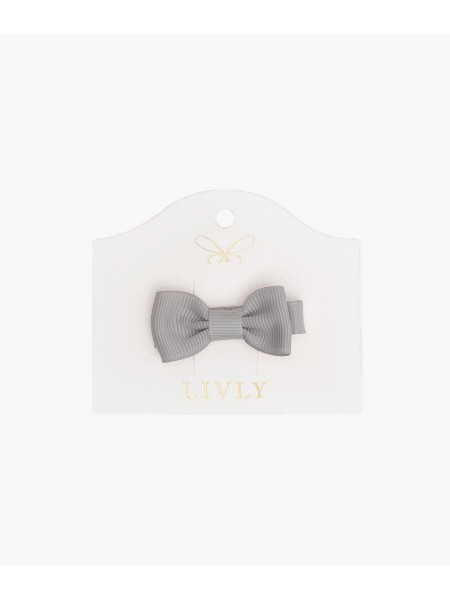 Бантик Small Bow Grey