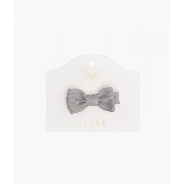 Бантик Small Bow Grey