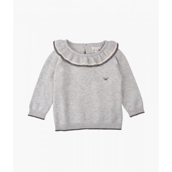 Свитер Ruffled Sweater Grey