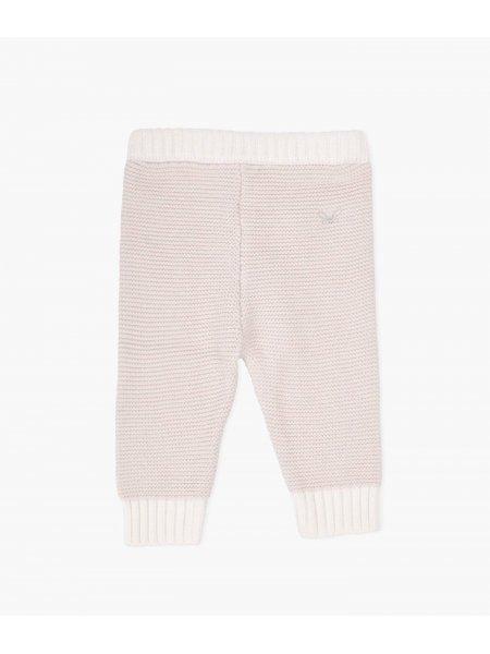 Штаны Knit Pants Light Mauve / White