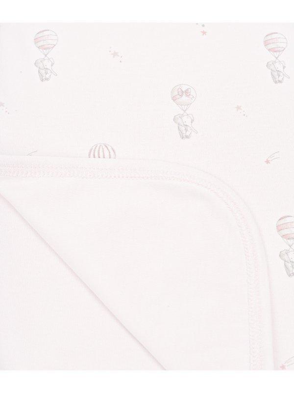 Одеяло Flying Elephants Blanket Pink