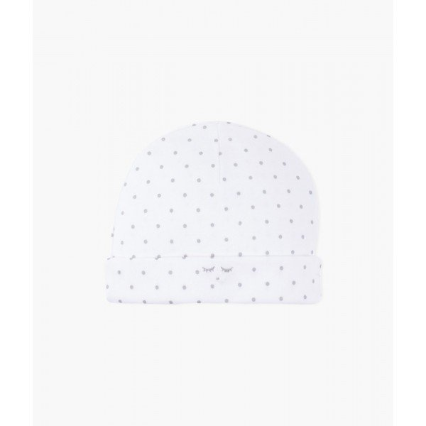Шапка Saturday Ninni Hat White / Silver Dots