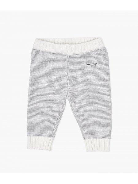 Штаны Knit Pants Grey / Ivory